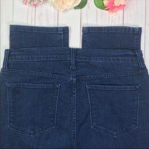 """NYDJ Jeans Skinny Ankle 10"""" Rise Georgia 8"""